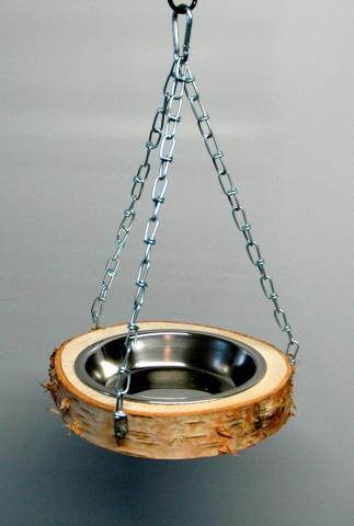 hängende Futter- Wasserschal Ø Schale 13 cm